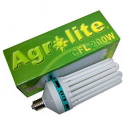 Bombilla CFL 200w Agrolite crecimiento