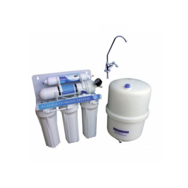 Filtro de Osmosis Inversa de 5 etapas con depósito de presión