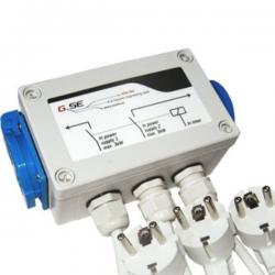 Caja de Relé 8x600 2 circuitos