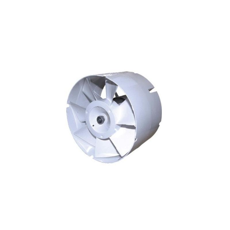 Extractor en linea 100 tubo 137m3 h blauberg for Tubo extractor cocina