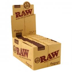 Caja RAW Classic Connoisseur 1/4 (24 libritos)