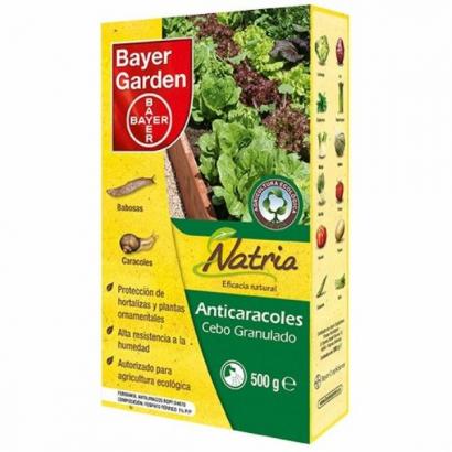 Anticaracoles Natria Ferramol 500gr Bayer Garden