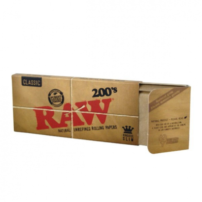Papel Raw King Size 200 (1 librito)