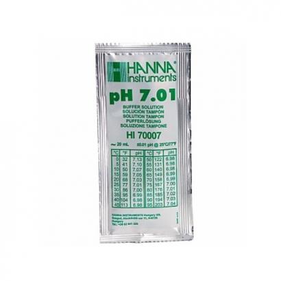 Liquido Calibración sobre de 20ml PH 7.01 HANNA INSTRUMENTS CALIBRACIÓN PH