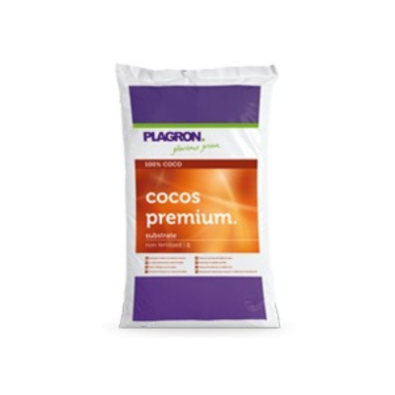 Sustrato Coco Premium 50lt Plagron PLAGRON SUSTRATO DE COCO