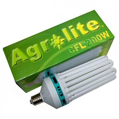 Bombilla CFL 200w Agrolite crecimiento AGROLITE BAJO CONSUMO