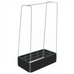 Grow Bed Mini con estructura metálica. GROW BED GROW BED