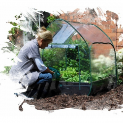 Grow Bed Pop Up Plástico (G128) GROW BED GROW BED