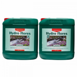 Hydro flores A + B 5 LT Canna (agua blanda)