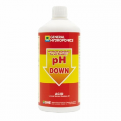 PH Down General Hydroponics 1lt