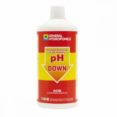 PH Down General Hydroponics 1lt GENERALS HYDROPONICS EUROPE GHE