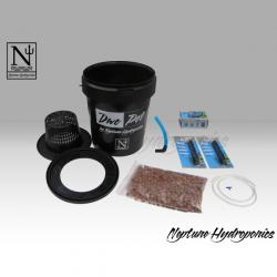 DWC Pot 25lt Neptune Hydroponics