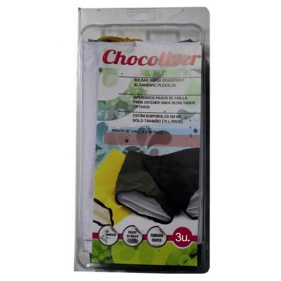 Chocolizer 3 mallas 5g  BOLSAS Y MALLAS