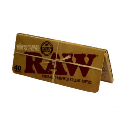 Raw King Size Supreme (1librito) PAPEL KING SIZE