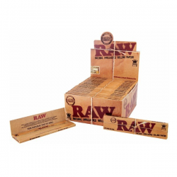 Caja Raw King Size Slim (50libritos)  PAPEL KING SIZE