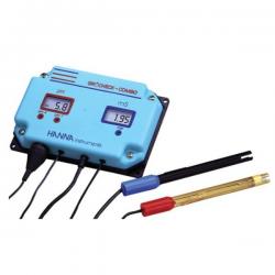 Medidor de pH y EC continuo Grochek (HI 981405N) Hanna