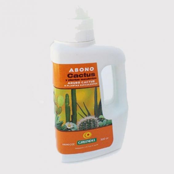 Abono cactus y plantas suculentas 500cc Greendel  OTRAS MARCAS