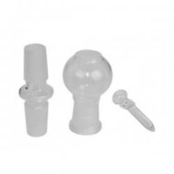 Kit de conversión enlace recto 19mm (adaptador, clavo y globo)