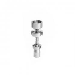 Clavo Titanio ajustable 14mm y 18mm  ACCESORIOS Y HERRAMIENTAS BUBBLERS Y OILERS
