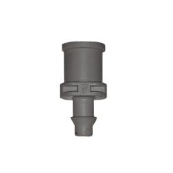 Conector Hembra dentado gris para Coolnet  NEBULIZADORES