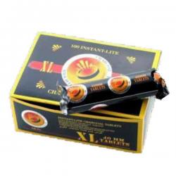 Carbon Shisha 40mm Caja 10 unidades