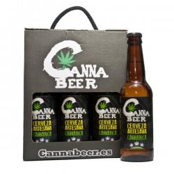 Cerveza Cannabeer caja 6 Botellas 33cl