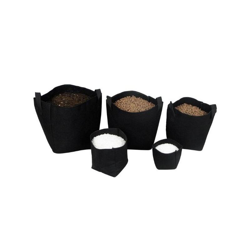 Maceta Tex Pot Negra 3 L