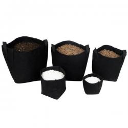 Maceta Tex Pot negra 15L