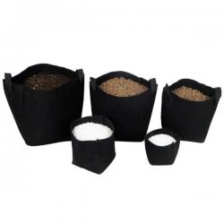 Maceta Tex Pot negra 10L