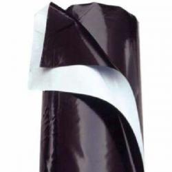 Plástico Reflectante VDL Blanco/Negro 2mt x 100mt Grueso PLÁSTICOS REFLECTANTES