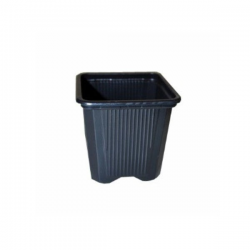 Maceta cuadrada negra11x11x12 (0.7LT) 1275 uds