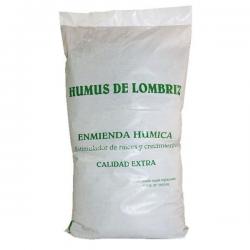 Humus de lombriz solido 10lt (6kg) Trabe