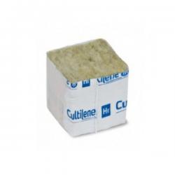 Taco de lana roca con forro 4x4x4cm  LANA DE ROCA
