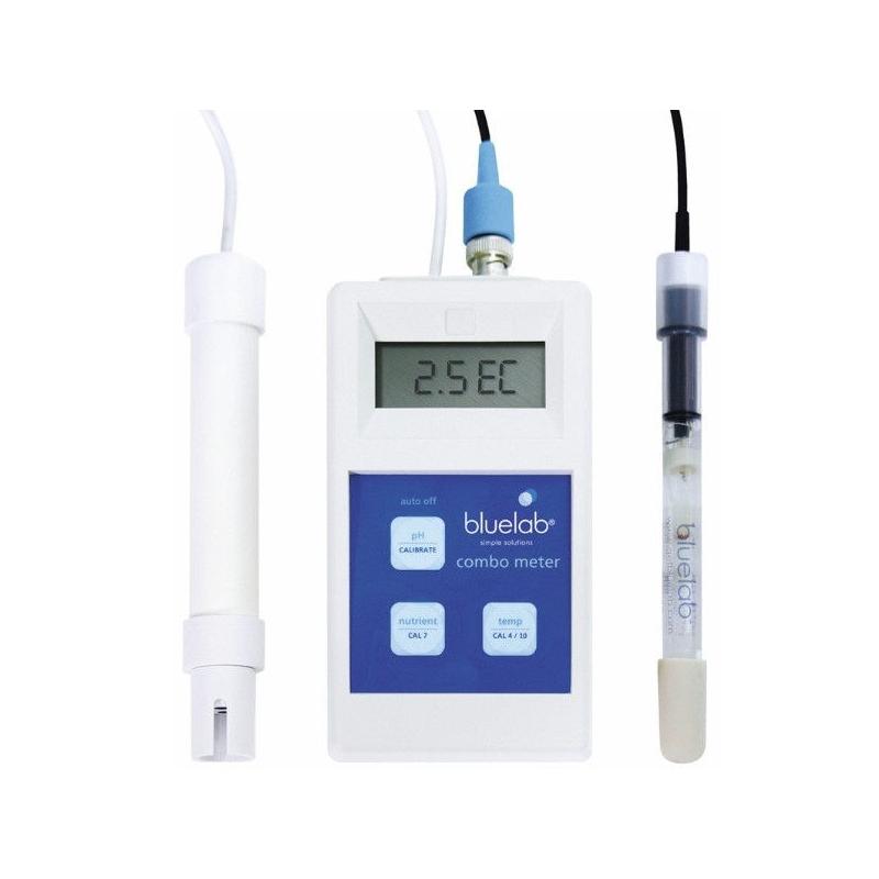 Combo Meter PH, EC y Temperatura Bluelab BLUELAB COMBOS Y CONTÍNUOS
