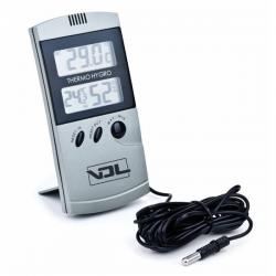 Termohigrómetro digital max/min con sonda VDL  TERMOHIGROMETROS
