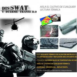Plástico Térmico Antidetección Disswat 1 cara 25mt x118cm  PLÁSTICOS REFLECTANTES