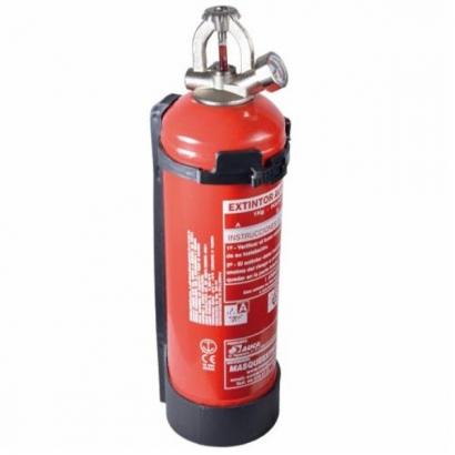 Extintor de Polvo de Disparo Automático 1 kilo SEGURIDAD Y VIGILANCIA