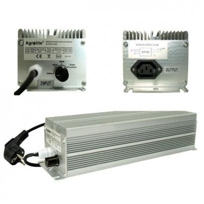 Balastro Electrónico Agrolite regulable 600 W P&P AGROLITE BALASTRO 600W