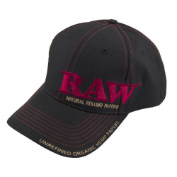 Gorra RAW Negra RAW TEXTIL