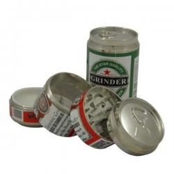 Grinder 4 partes lata bebida 50mm