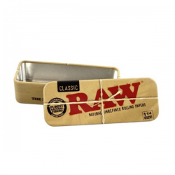 Caja RAW metal Roll Caddy 1/4 RAW CAJAS