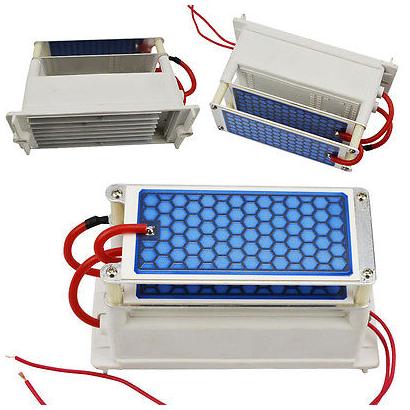 Generador Ozono plato ceramico 10gr GD-CP