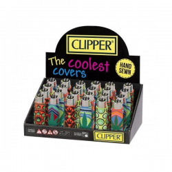 Encendedor Clipper micro con funda PVC (1uni)