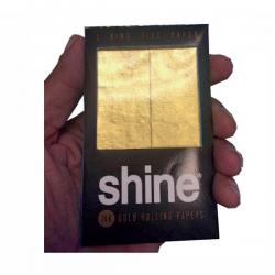 Papel Shine Oro 24K 1.1/4 2 unid