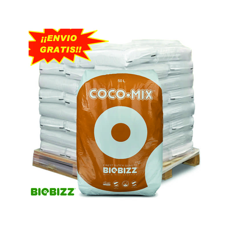 Sustrato Coco Mix 50lt Biobizz ( palet 60 sacos ) SUSTRATO DE COCO