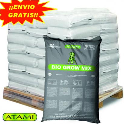 Sustrato Bio Grow Mix 50lt Atami (palet 70 sacos) ATAMI SUSTRATO ENRIQUECIDO