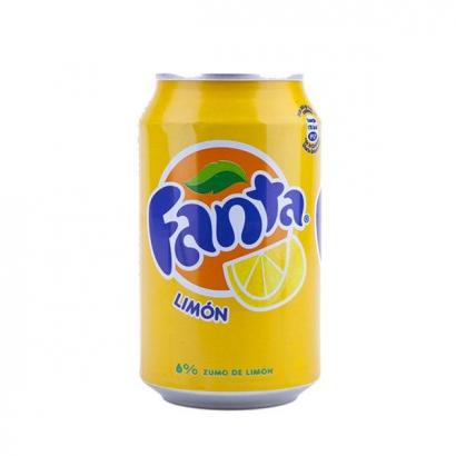 Lata de Ocultación Fanta Limón