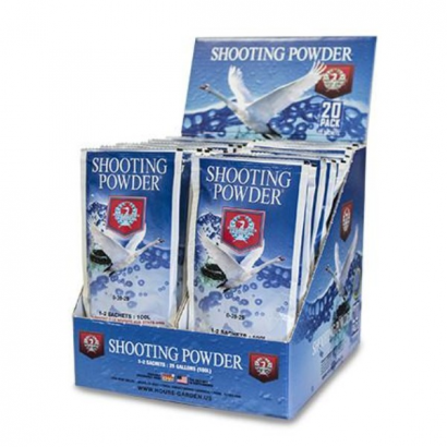 Shooting Powder 20 sobres de 65gr House&Garden