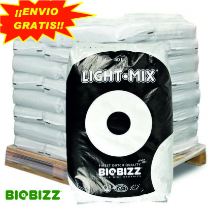 Sustrato Light Mix 50lt Biobizz ( palet 65 sacos ) SUSTRATO LIGHT