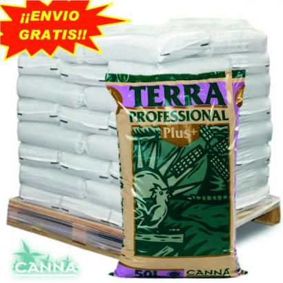 Sustrato Terra Profesional Plus 50LT Canna ( palet 60 sacos ) CANNA SUSTRATO ENRIQUECIDO